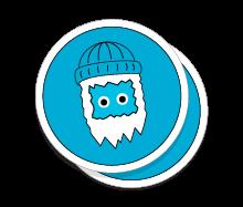 StickerYeti StickerShop Sample Stickers