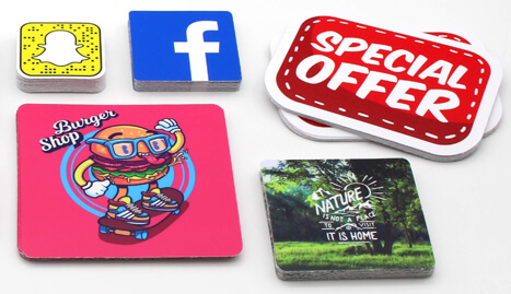 Rounded Corners Stickers of exceptional quality